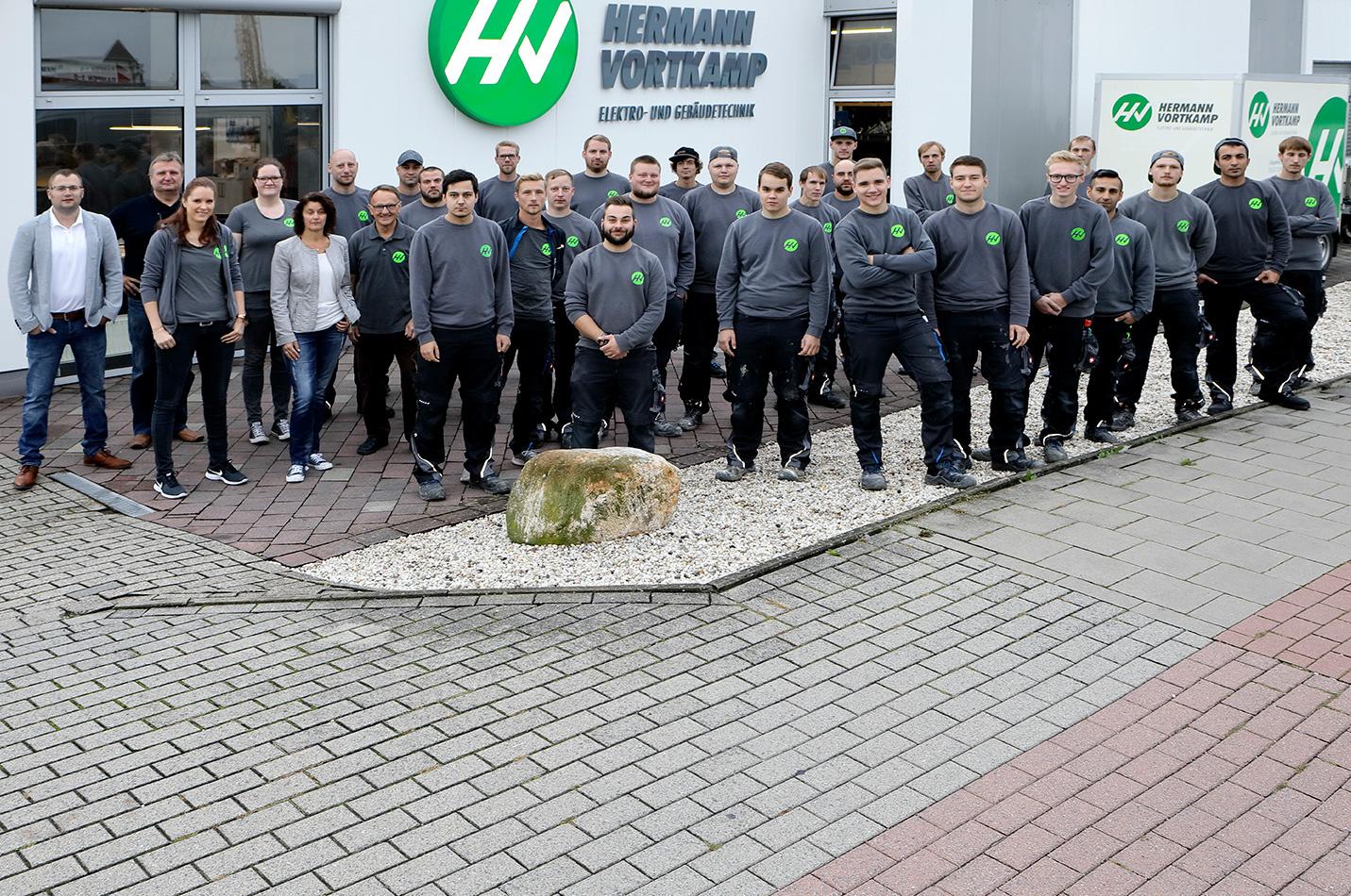 Das ganze Team von Hermann Vortkamp e.K. aus Steinfurt